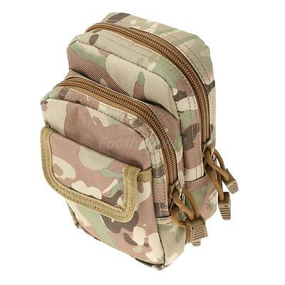 Mini Outdoor Waist Tactical Bag Molle Military Pouch Pack with Belt 4 Colors