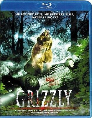 BLU RAY neuf _GRIZZLY_ THRILLER Horrifique