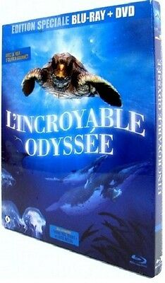 BLU RAY + DVD neuf _L'INCROYABLE ODYSSEE_ DOCUMENTAIRE Animalier TORTUE