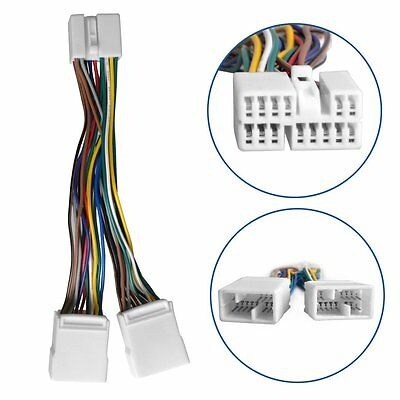 Honda Y Splitter cable harness For CD Changer Nav USB adpater MP3 Interface