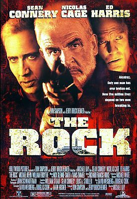"""""""The Rock"""" ..Sean Connery Nicholas Cage Classic Movie Poster A1A2A3A4Sizes"""
