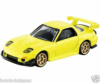 """Die-cast toy Dream Tomica Tomy FD3S RX-7 Project D ver. """" Initial D """" from Japan"""