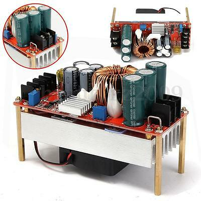 1500W 30A DC Boost Converter Step-up Power Supply Module In10~60V Out 12~90V