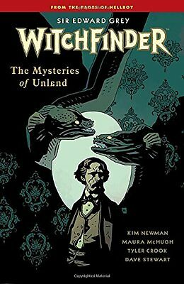 Witchfinder Volume 3 The Mysteries of Unland,PB, - NEW