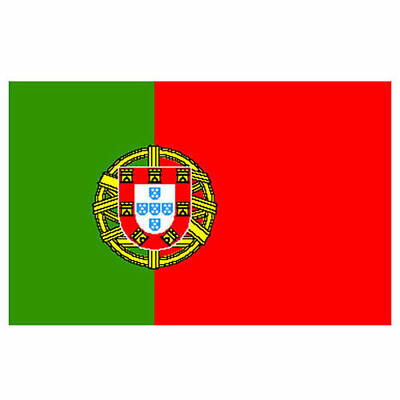 Large 5 X 3Ft Portugal National Flag Olympics Sports Event Festival