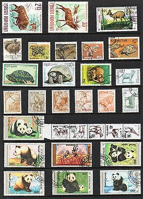 ANIMALS Thematic STAMP COLLECTION Inc PANDAS Used REF:TH678