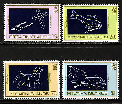 PITCAIRN ISLANDS 1984 The Complete Night Sky Set SG 259 to SG 262 MNH