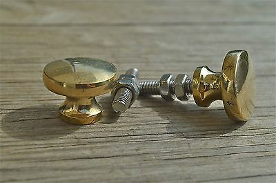 A pair of superb quality antique brass furniture knobs handle knob Z12
