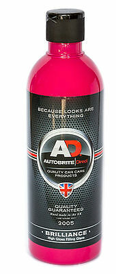 Autobrite Brilliance polish and paint filler scratch remover swirl remover 500ml