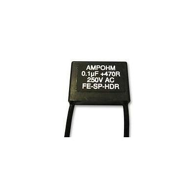 GA71026 FE-SP-HDR23-100/470 Ampohm Wound Products Contact Suppressor 0.1UF 470R