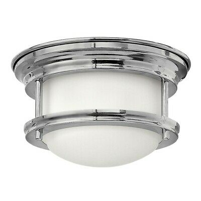Hinkley Lighting Hadley 1 Light Foyer Flush Mount, Chrome - 3308CM