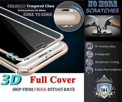 3D FULL Cover 9H Tempered Glass Screen Protector iphone 8 X XS XR 7 6 Plus vitre