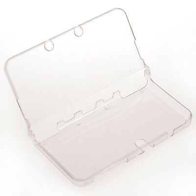 Protection Hard Shell Case Cover for Game Console Nintendo New 3DS Crystal Clear