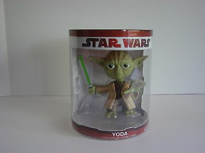 Star Wars FunKo Force 15cm Yoda Bobble Head. Brand New Sample From Funko