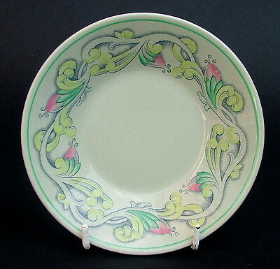 Vintage 1950's Spode Flemish Green Scroll Coffee Cup Saucer Only 12cm in VGC