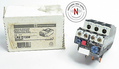 Telemecanique Lr2-D1308 Overload Relay, Thermal, 2.5-4A, 600V, Class 10