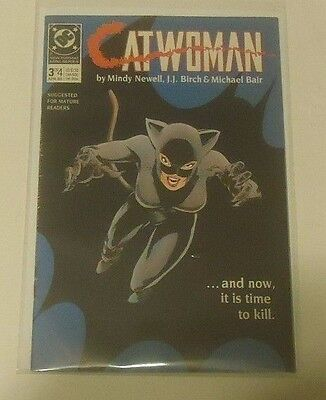 Catwoman #3 DC Comics 1989 Mini Series