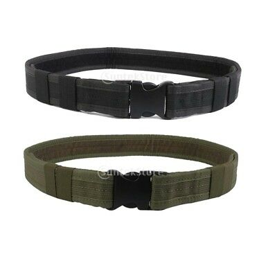 Molle Tactical Army Military Heavy Duty Utility Rigger QUICK RELEASE Belt Combat