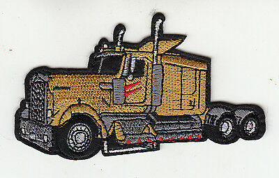 Truck Embroidered Patch