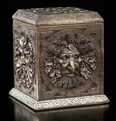 Greenman Schatulle - Seasons of the Craft - Figur Dose Box Magie Wicca Veronese