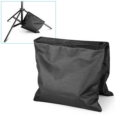 Black Counter Balance Sandbags Sand Bag for Photo Studio Light Stand Boom Arm