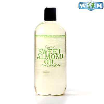 Sweet Almond Organic Carrier Oil 100% Pure 500ml (CO500ALMOSWEE)