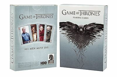 Game of Thrones 2nd Edition Playing Cards Licensed