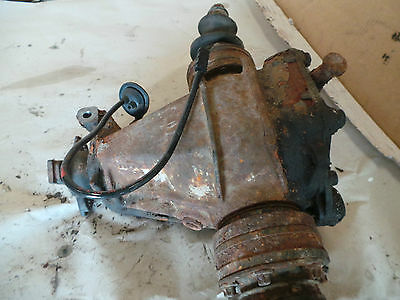 S17* Mercedes W202 Sprinter Diff Getriebe Differential 3,91 A2013511608