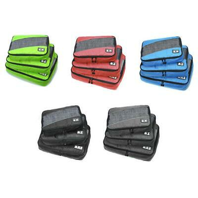 3 Sizes/Set  Cloth Storage Bags Packing Cube Luggage Organizer Pouches
