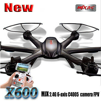 MJX X600 2.4G 6 Axis 3D Roll FPV Wifi camera Helicopterr RC Drone Quadcopter UFO