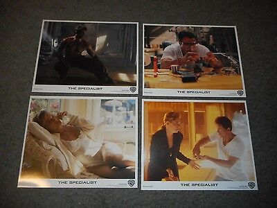The Specialist - Original Set Of 8 X 10 Lobby Cards - 1994 - Stallone/stone