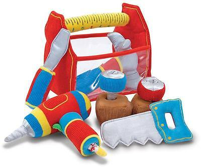 Melissa & Doug TOOL BOX FILL AND SPILL Soft Play Sorting Toy Toddler Gift BN