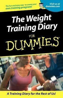 Weight Training Diary for Dummies by Allen St John Paperback Book (English)
