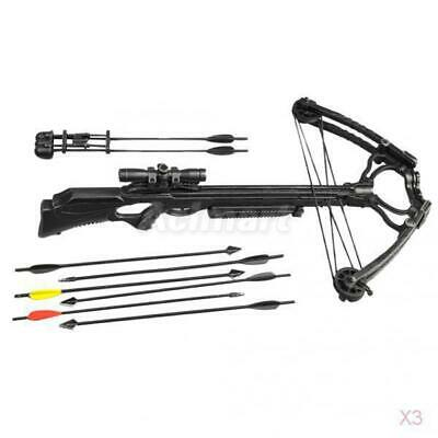 """3x Crossbow for 1/6 scale 12"""" Action Figure Man Vampire Hunter Sideshow Dragon"""