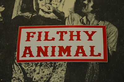 Hells Angels Nomads, AZ USA - Filthy Animal - Stickers