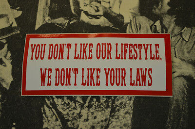 Hells Angels Nomads, AZ USA -  Our Lifestyle - Stickers