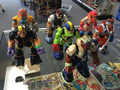 Lot Of 7 Rescue Heroes Figures Loose Mattel