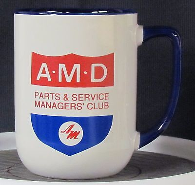 AMD (AMC Dealers) Parts & Service Managers' Club Mug - - - AMC