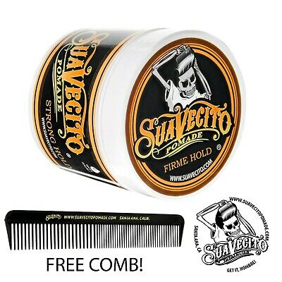 Suavecito Firme (Strong) Hold Pomade 4 oz.