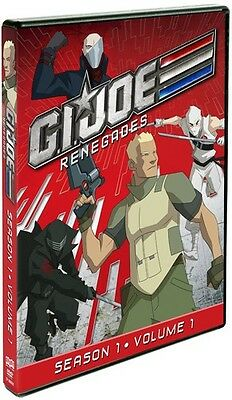 G.I. Joe: Renegades - Season 1, Vol. 1 [2 Discs] (2012, REGION 1 DVD New)