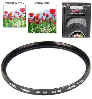 Bower 105mm DHD UV Filter for Sigma 150-600mm F5-6.3 DG OS HSM (Sports) Lens