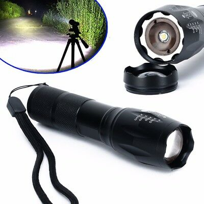 10000 Lumens XML T6 LED Flashlight G700 Zoomable Waterproof 18650/AAA Torch lamp