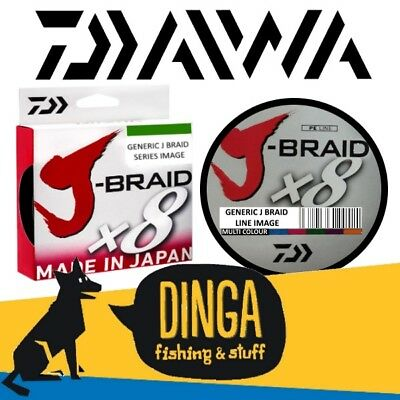 Daiwa J Braid | Braid Fishing Line -Multi Colour