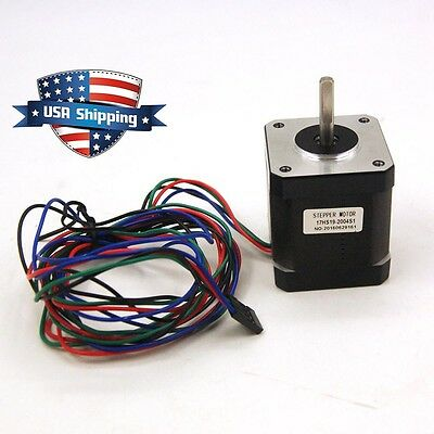 Nema 17 Stepper Motor Bipolar 84oz.in(59Ncm) CNC/3D Printer Reprap Robot