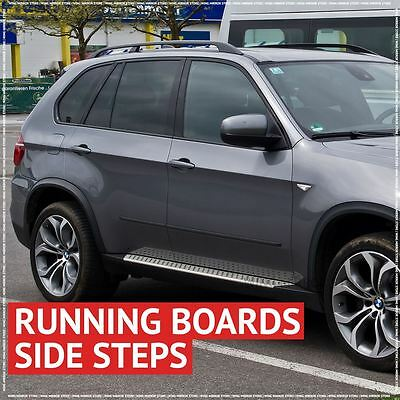 Running Boards, Side Steps for BMW X5 / e70 2007-2012