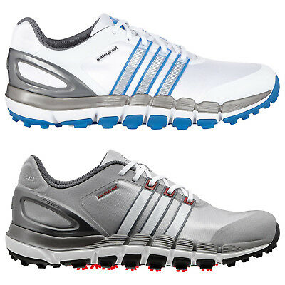Adidas Mens Pure 360 Gripmore Sport Spikeless Golf Shoes New Waterproof Leather