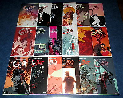 OUTCAST #1 2 3 4 5 6 7 8 9 10 - 18 cinemax TV ROBERT KIRKMAN & AZACETA iMAGE 1st