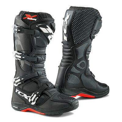 TCX X-Helium Michelin Black Motocross Offroad Enduro Boots Free Eu Delivery