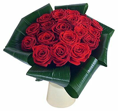 Clare Florist Love 20 Red Rose Fresh Flower Bouquet - Beautiful Romantic Flowers
