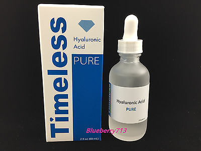 New in Box! Timeless Pure Natural Hyaluronic Acid 2 oz/ 60ml- Free Shipping